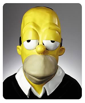 Homer Simpson Oversized Mask