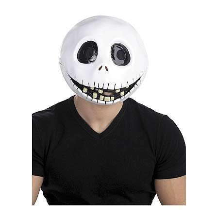 Nightmare Before Christmas Jack Skellington Mask