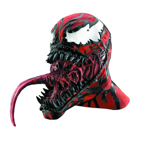 Spider-Man Carnage Vinyl Deluxe Adult Mask