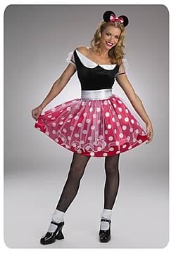 Minnie Mouse Deluxe Adult Costume