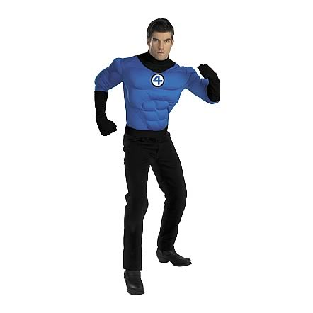 Fantastic Four Mr. Fantastic Deluxe Muscle Adult Costume