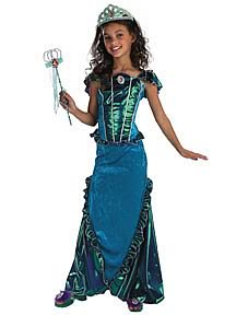 Little Mermaid Delxue Child Costume
