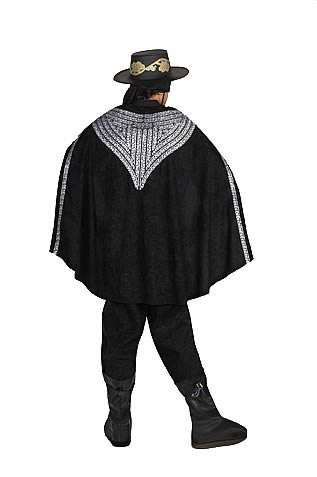 Zorro Deluxe Adult Cape