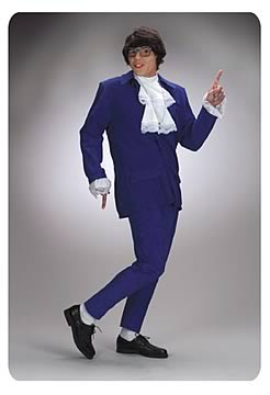 Austin Powers Deluxe Costume