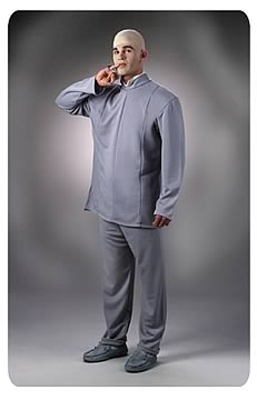 Dr. Evil Deluxe Costume
