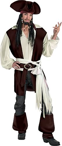 Captain Jack Sparrow Deluxe Costume