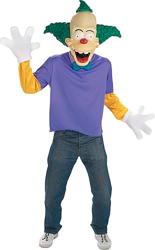 Krusty The Clown Deluxe Costume