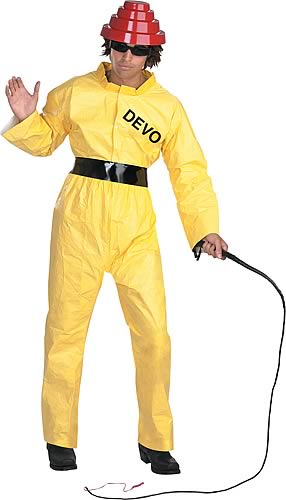 Devo Radiation Suit Adult Costume