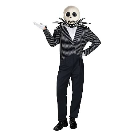 Nightmare Before Christmas Jack Skellington Deluxe Costume