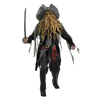Pirates 2 Davey Jones Deluxe Adult Costume