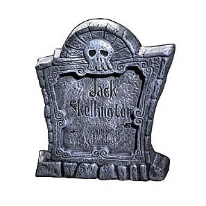 Nightmare Before Christmas Tombstone