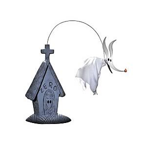 Nightmare Before Christmas Zero Deluxe Tombstone