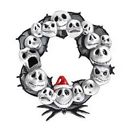 Nightmare Before Christmas Door Wreath