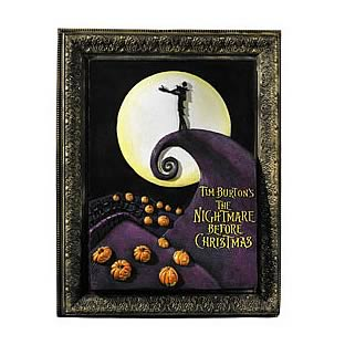 Nightmare Before Christmas Wall Sign