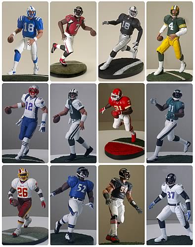 Gracelyn NFL Mini-Figure Series 1 Set
