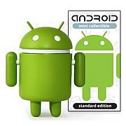 Google Android Phone Mascot Vinyl 3-Inch Figure