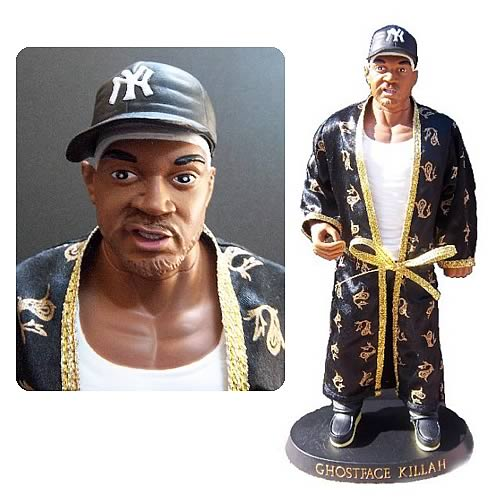 Wu-Tang Clan Ghostface Killah Black Cream Vinyl Doll