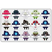 Google Android Phone Mascot Mini-Figures Series 3 4-Pack