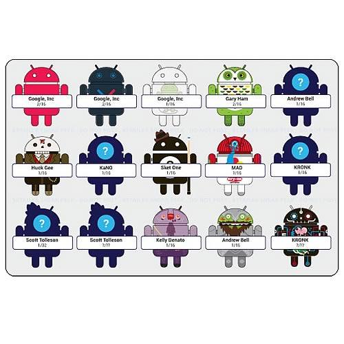 Google Android Phone Mascot Mini-Figures Series 3 Case
