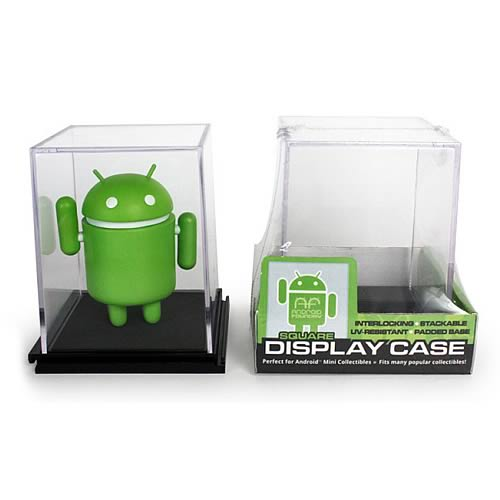 Google Android Square Mini-Figure Display Case