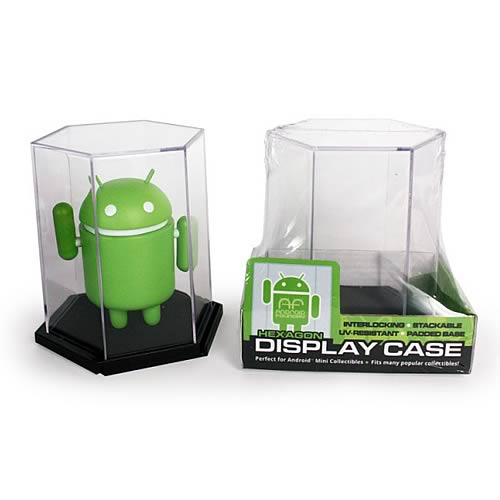 Google Android Hexagonal Mini-Figure Display Case