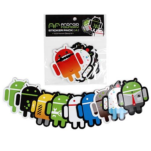 Android Foundry Sticker Set A