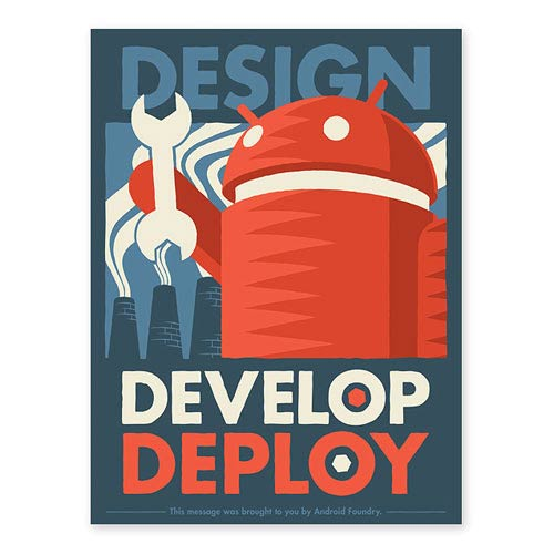 Android Design, Develop, Deploy Lithograph