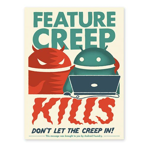Android Feature Creep Kills Lithograph