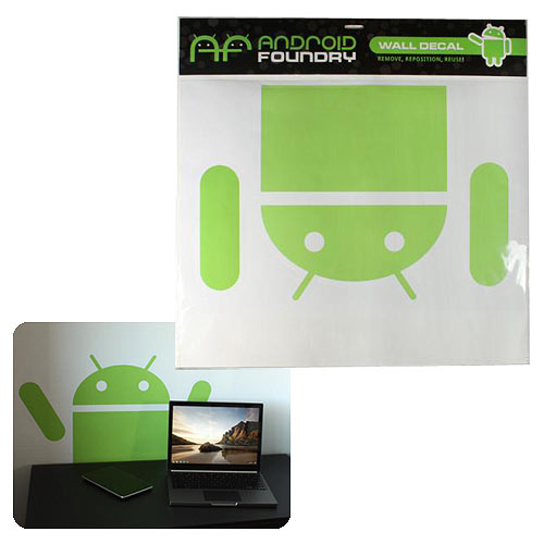 Google Android Foundry Drop-Down Android Giant Wall Decal