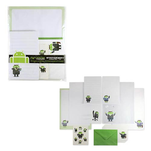 Android Business Time Stationary Set