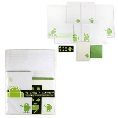 Android Andy's Day Out Stationary Set