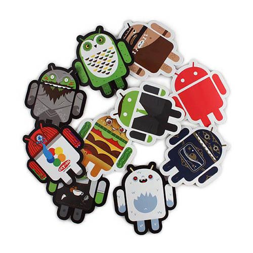 CHEAP Android Foundry Sticker Set B LIMITED