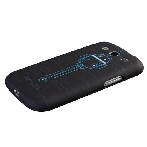 Android Circuit Design Galaxy S3 Phone Case