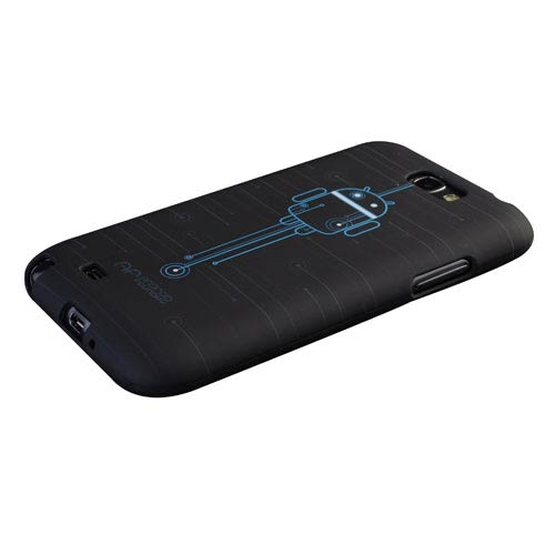 DEALS Android Circuit Design Galaxy Note II Phone Case, Not Mint NOW