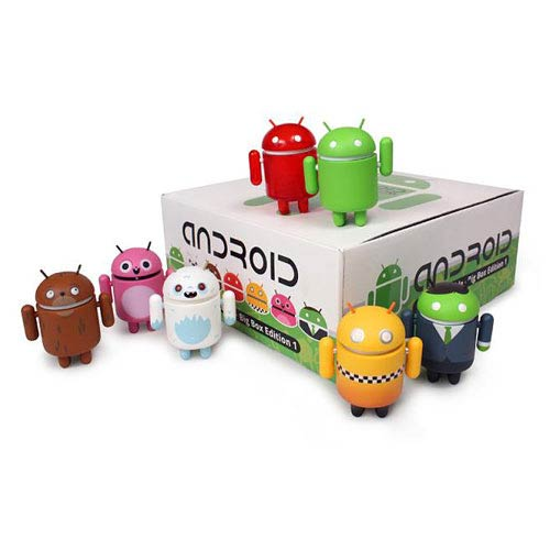 Android Big Box Edition Mini-Figure Case