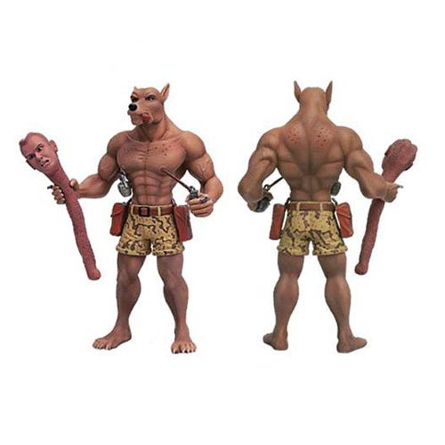 Werewolf Bounty Hunter Dick Statue