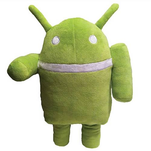 Google Android 12-Inch Ganndroid Plush