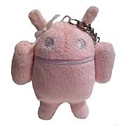 Google Android Pink Android 4-Inch Key Chain Plush