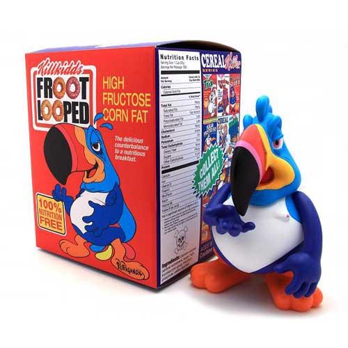 Two Ton Sam Cereal Killer Series Last Fat Breakfast by Ron English Designer Vinyl Figure