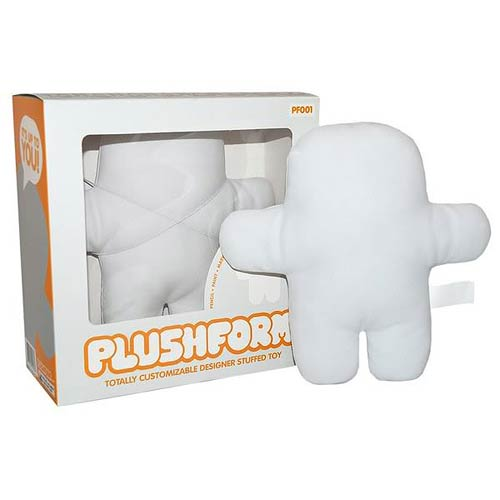 Plushform Totally Customizable Designer Stuffed Plush Toy