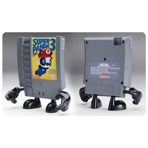 10-Doh! Super Panda Cubs 3 Video Game Cartridge Vinyl Figure