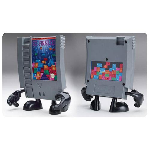 10-Doh! 10-Tris Video Game Cartridge Vinyl Figure