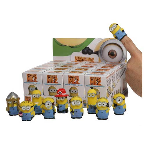 Despicable Me 2 Finger Puppet Series 1 Display Box
