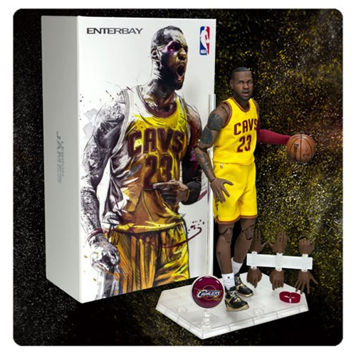 NBA Collection LeBron James Motion Masterpiece 1:9