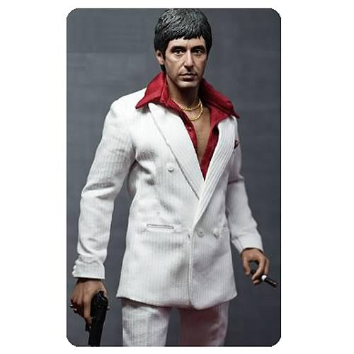 Scarface Tony Montana Respect Version Action Figure