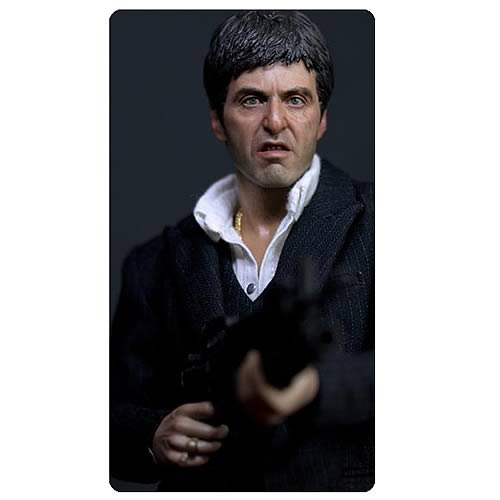 Scarface Tony Montana War Version Action Figure