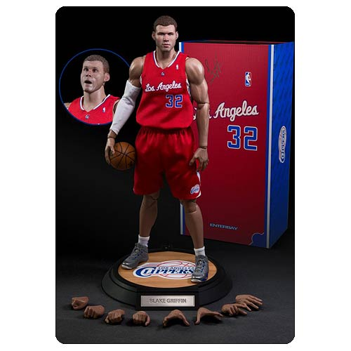 NBA Blake Griffin Clippers Real Masterpiece Action Figure