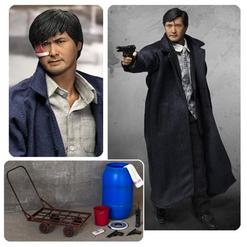 "This action figure shows the ""True Colors of a Hero""! Mark Lee stands about 12-inches tall and sports over 30 points of articulation! From the 1986 triad crime thriller A Better Tomorrow. Comes with interchangeable hands and multiple costumes and accessories! From Hong Kong film director John Woo's classic 1986 triad crime thriller A Better Tomorrow, comes this amazing A Better Tomorrow Mark Lee Real Masterpiece 1:6 Scale Action Figure featuring an impeccable likeness of actor Chow Yun-fat. The detailed Mark Lee figure stands about 12-inches tall and sports over 30 points of articulation. There are 2 different head sculpts - classic and battle damaged - both with wrinkles and a lifelike skin texture. These sculpts are hand painted with a mu"