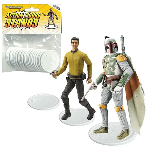 Action Figure Stands 25-Pack - White