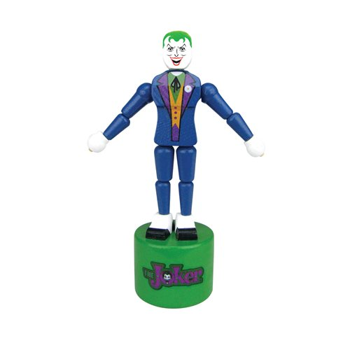 the joker wood collectible fun puppets